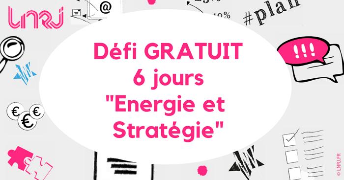 Défi énergie et stratégie