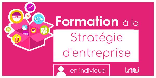 Formation stratégie d'entreprise